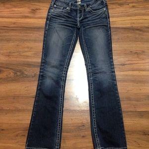 "Silver Aiko Boot Cut Jeans Sz 29 Inseam 33"""